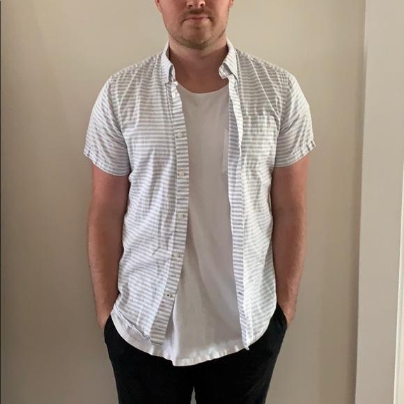 GAP Other - GAP Striped Short Sleeve Button Down Shirt